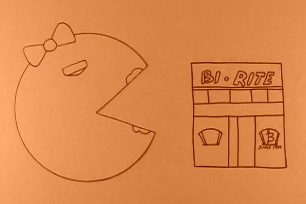 Your Store Ms Pac Man Drawing